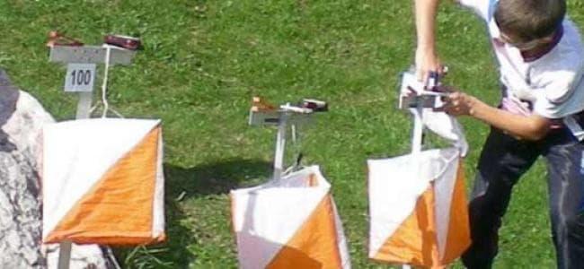 Sezione orienteering
