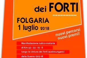 20^ MARCIA dei FORTI - Folgaria / NUOVI PERCORSI da stampare o scaricare tramite QR Code