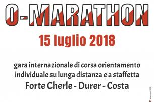 11^ O-MARATHON di corsa orientamento - CLASSIFICA